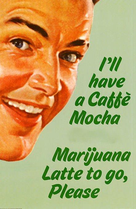 marijuana latte