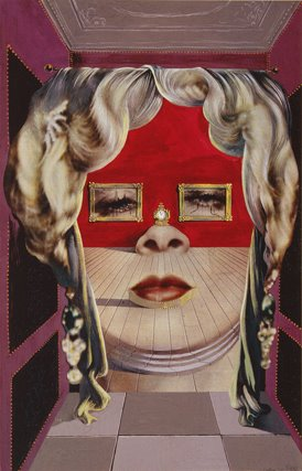 Salvador Dali, The Face of Mae West, 1934-5